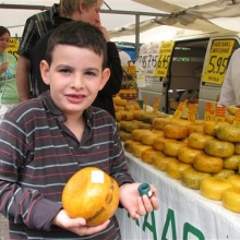 דוכן גבינה באלקמאר