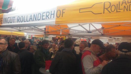 יריד אוכל ובירה במרכז פרנקפורט