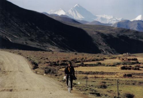 רוכב אופניים טיבטי