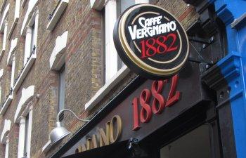 קפה ורגמאנו - קפה איטלקי מצויין בלונדון