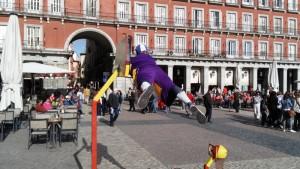 פעילות טיפוסית לפלאזה מיור - בלבה של מדריד