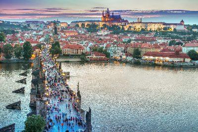 פראג, צ'כיה. יעד חם