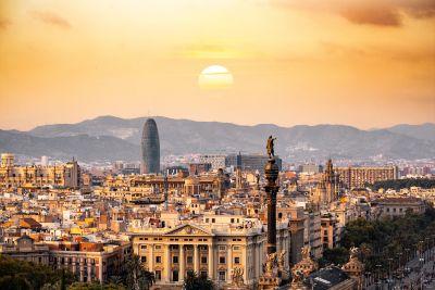 חופשה בברצלונה - מבט פנורמי