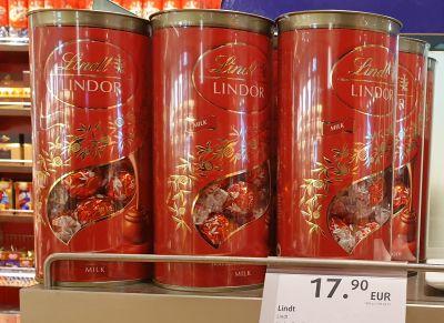 איפה קונים שוקולד לינדור לינדט