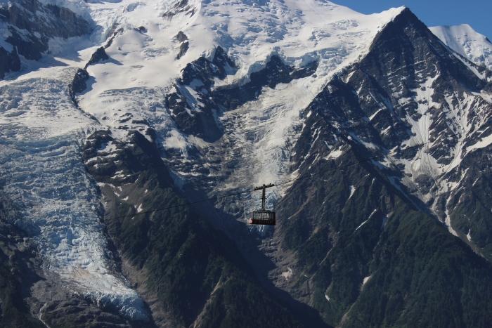 טור דה מון בלאן - תצפית לפסגה